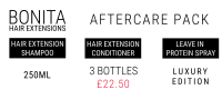 Hair Extension Aftercare Pack